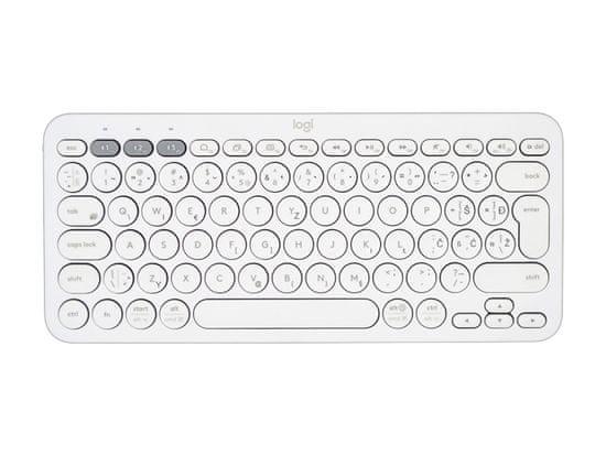Logitech K380 Multi-Device brezžična tipkovnica, bela, SLO g.