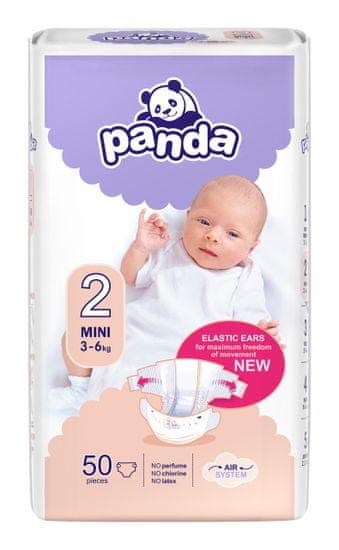 Panda detské Mini 3-6 kg 50 ks
