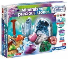 Clementoni Dětská laboratoř Výroba kamenů a minerálů