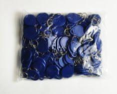 MIFARE® 50 kos RFID obeskov MIFARE Classic® 1K NXP - Modre barve