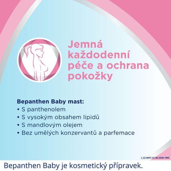 Bepanthen Baby masť (100g) pomáha chrániť pred zaparením, na bradavky