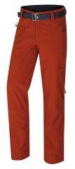 Husky pánske softshellové nohavice Kresi oranžová M