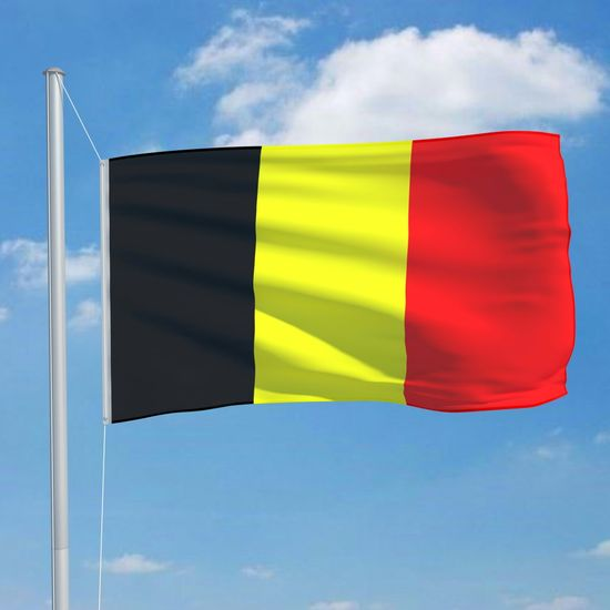 shumee Flaga Belgii, 90x150 cm