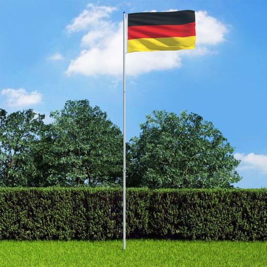shumee Flaga Niemiec z aluminiowym masztem, 6 m