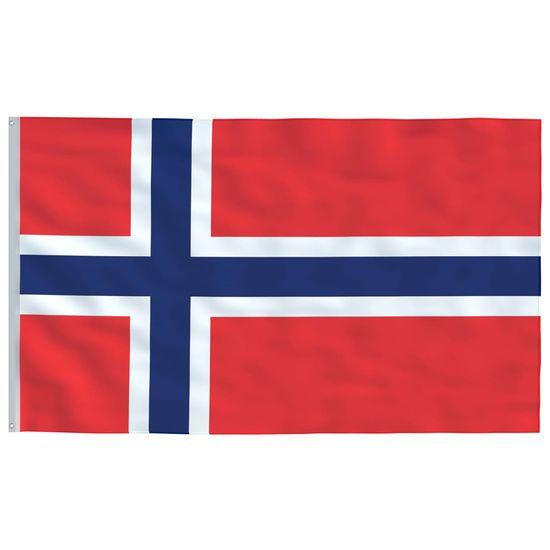 shumee Norveška zastava 90x150 cm