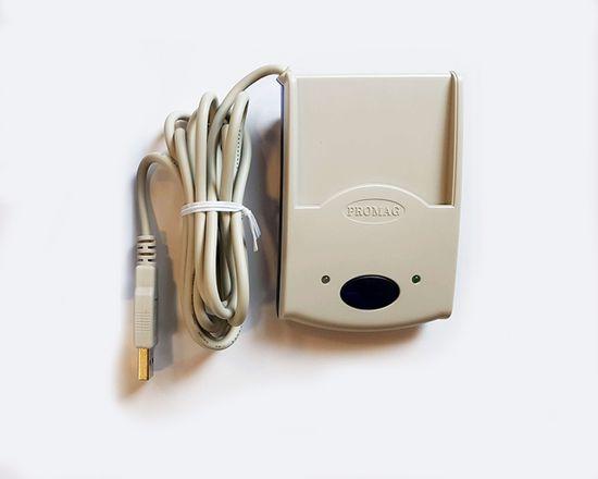 PROMAG RFID čitalnik PCR 300MU-01 USB Virtualni COM 13.56 MHz HEX UID
