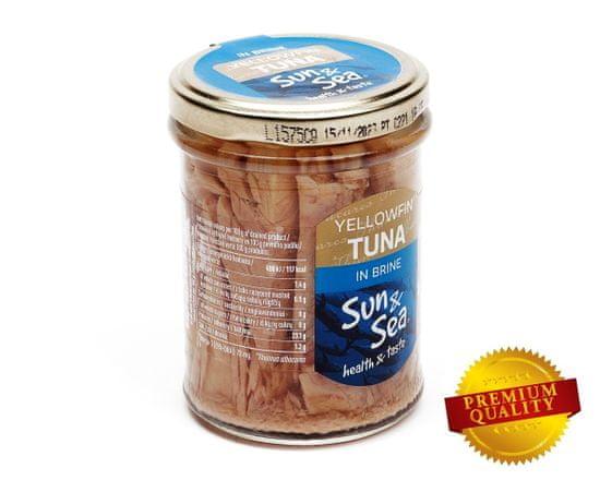 Sun&Sea Tuniak žltoplutvý vo vlastnej šťave 6 × 200 g