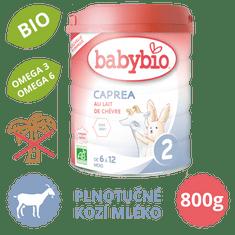 Babybio CAPREA 2 plnotučné kozie dojčenské bio mlieko 800g