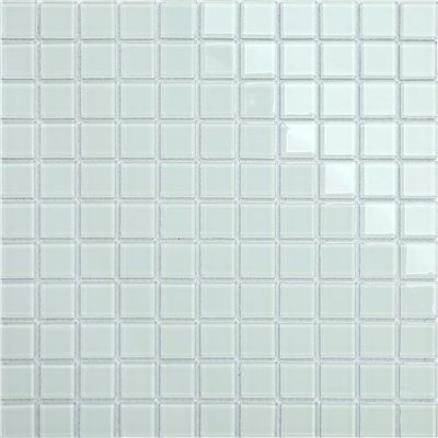Maxwhite Mozaika CH4012PM sklenená biela 30x30cm sklo