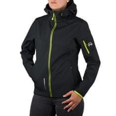 Northfinder Axymeta softshell jakna, ženska, S, črna