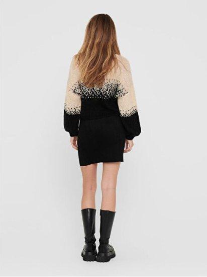 Jacqueline de Yong Dámska sukňa JDYKIRSTEN 15214736 Black BLACK ELASTIC