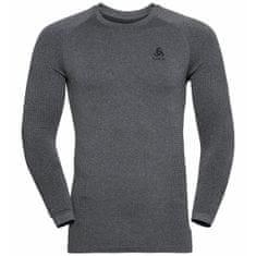 ODLO Performance Warm Eco moška majica, Grey Melange (B:15701), L