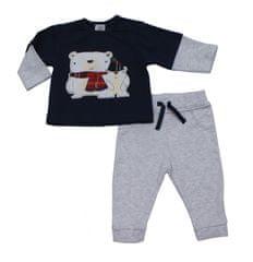 Just Too Cute Komplet chlapecký – lední medvědi modrá 68