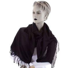 Cashmere Krásná dámská šála Nalda černá