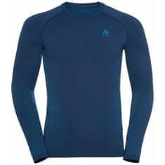 ODLO Performance Warm Eco moška majica, Estate Blue - Atomic Blue (B:20776), M