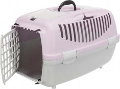 Trixie transportni zaboj za ljubljenčka CAPRI 2 XS-S 37 x 34 x 55 cm, siva/lila