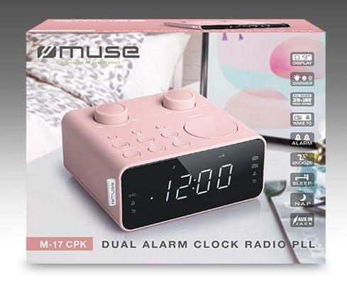 Muse M-17 radioura