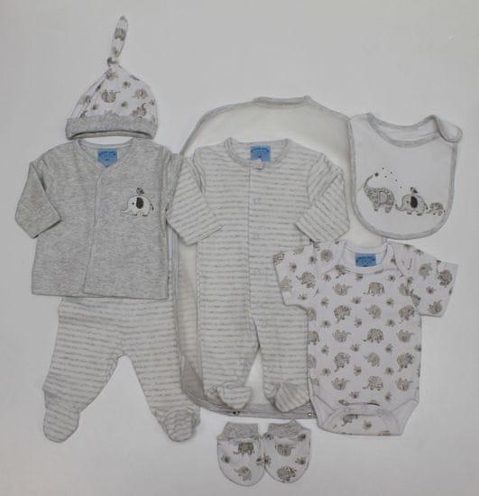 Just Too Cute darilni komplet za dojenčke 7set, slončki