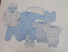 Just Too Cute Dárkový 8set chlapecký – medvídek modrá 62