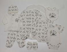 Just Too Cute Darčekový 8set UNI - panda krémová 68