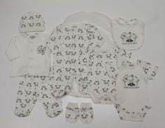 Just Too Cute Dárkový 8set UNI – panda krémová 62