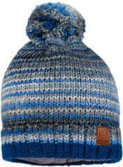 Maximo chlapčenská čiapka s brmbolcom modrá 55