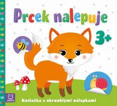 Agnieszka Bator: Prcek nalepuje 3+ / Knížečka s okrouhlými nálepkami