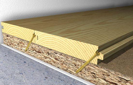 Fischer vruty do dřevěných podlah FTF 3.5 x 55 - 200ks