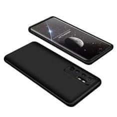 GKK 360 Full Body plastika ovitek za Xiaomi Mi 10 Lite, črna
