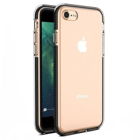 MG Spring Case silikonski ovitek za iPhone 7/8/SE 2020, črna