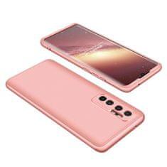 GKK 360 Full Body plastika ovitek za Xiaomi Mi 10 Lite, roza