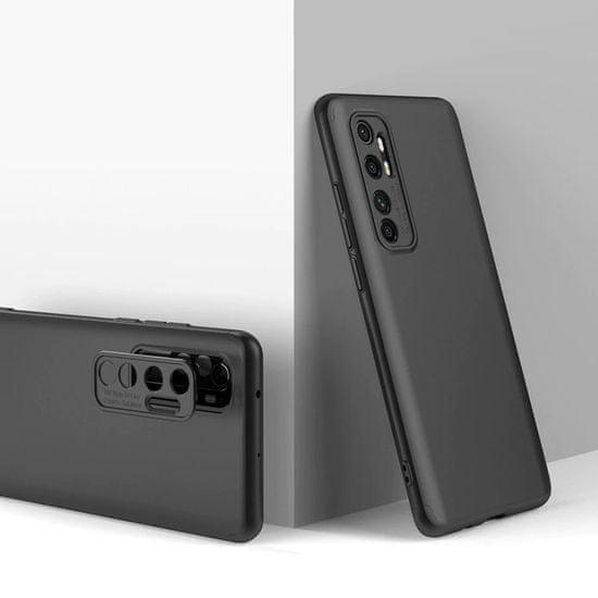 GKK 360 Full Body műanyag tok Xiaomi Mi 10 Lite, fekete