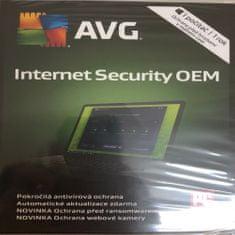 AVG Internet Security OEM pro 1 PC na 12 měsíců - krabicová verze