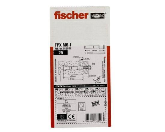 Fischer FPX M6 Ocelová kotva do ytongu - 1ks