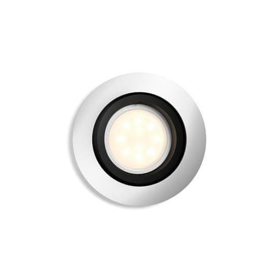 Philips Hue Milliskin SVIETIDLO PODHĽADOVÉ LED GU10 5 W 350 lm 2200-6500K, hliník BT