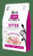 Brit Care Cat Grain-Free Kitten Healthy Growth & Development 2 kg