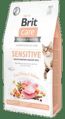 Brit Care Cat Grain-Free Sensitive Healthy Digestion & Delicate Taste 7 kg