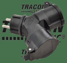Tracon Electric Zásuvka rozbočka schuko 230V 16A TICS-212GD IP44 Tracon electric