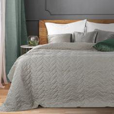 My Best Home Prikrývka na posteľ SABINA 220x240 cm sivá