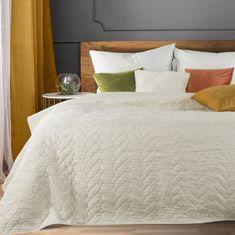 My Best Home Přehoz na postel SABINA 220x240 cm krémová