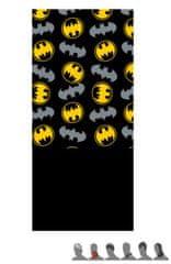 """Eplusm Otroški šal """"Batman"""" - 24x56cm - črna / rumena"""