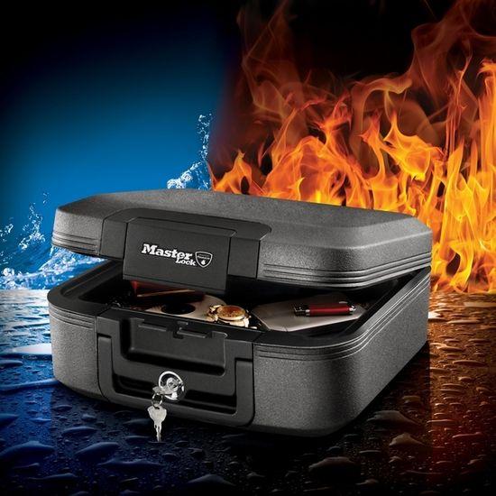 MasterLock Bezpečnostní kufr Master Lock odolný ohni a vodě LCHW20101