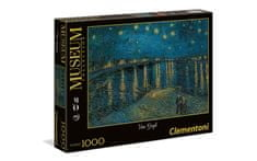 Clementoni 39344 Van Gogh: Starry Night Over The Rhone sesatvljanka, 1000 kosov