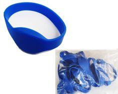 MIFARE® 25 kos RFID zapestnic s čipom MIFARE Classic® 1K NXP - Modre barve