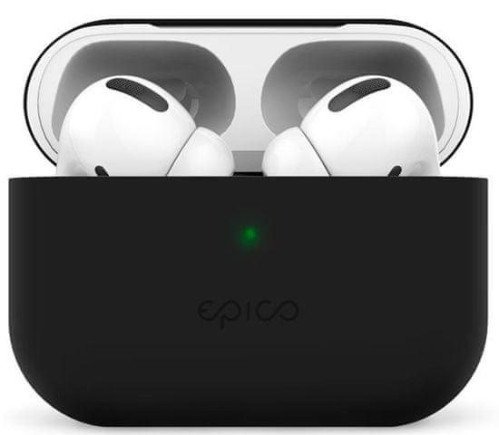 EPICO Silicone cover Airpods Pro - črn (9911101300014)