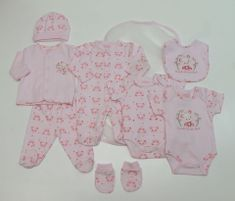Just Too Cute Dárkový set dívčí – panda růžová 68
