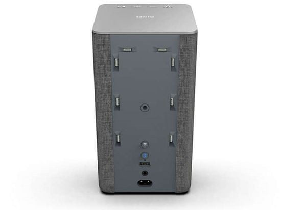 Philips TAW6205/10, šedá