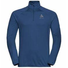 ODLO Carve Light 1/2 Zip moška majica, Estate Blue, S (B:20400)