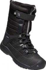 KEEN WINTERPORT NEO WP Y otroški visoki zimski čevlji, raven/black, črni, 35