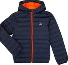 Quiksilver chlapčenská bunda Scalyyouth B JCKT Byp0 XS tmavo modrá
